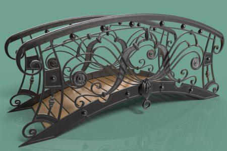 Кованые мостики