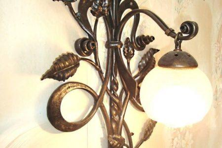 Кованые светильники