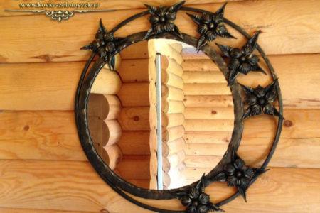 Кованые зеркала