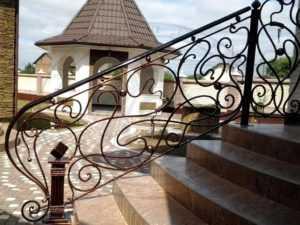 Кованые перила Воронеж